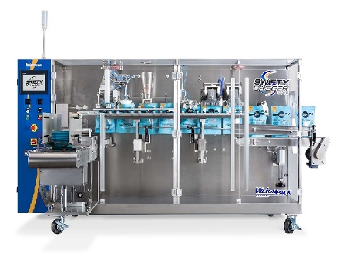 Automatic pre made pouch bagging machine