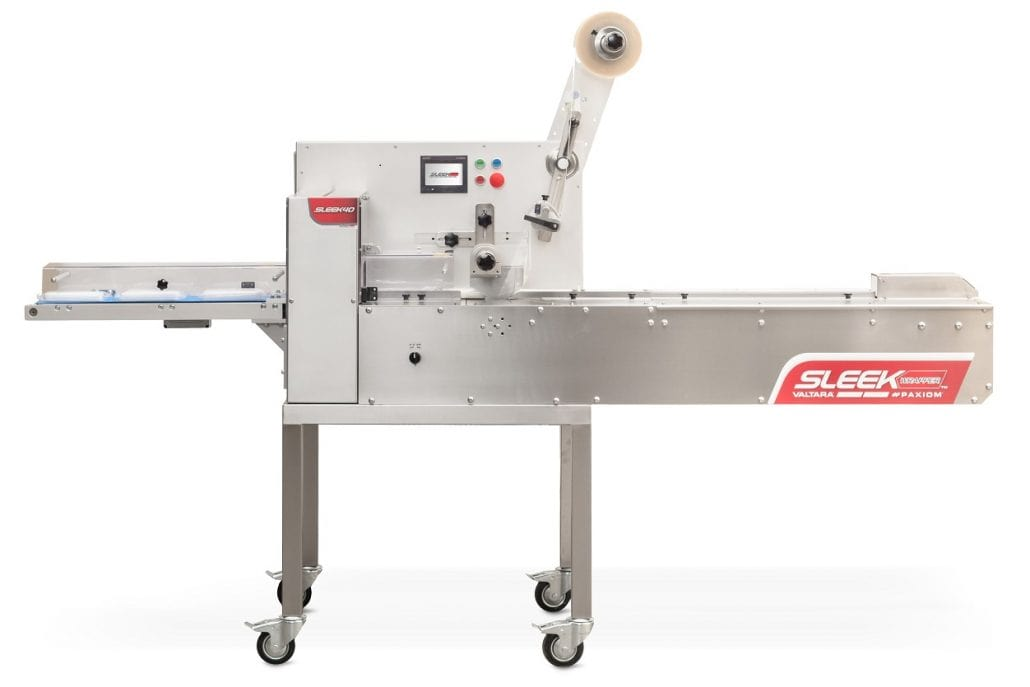 Cannabis flow wrapping machine