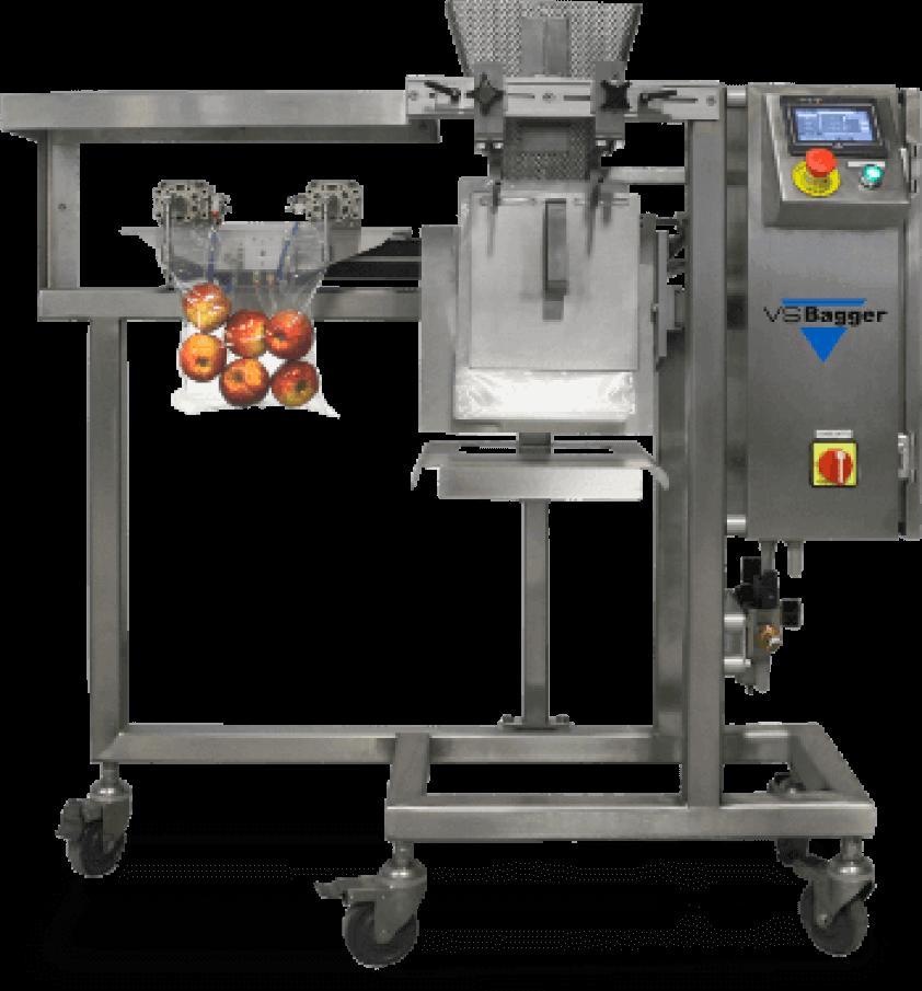 Fruit bagging semi automated machine