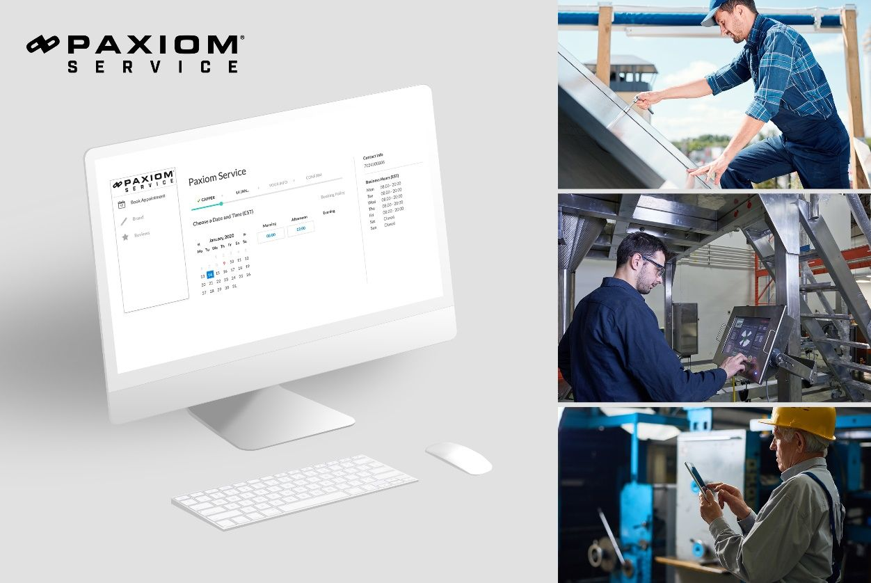Paxiom service website