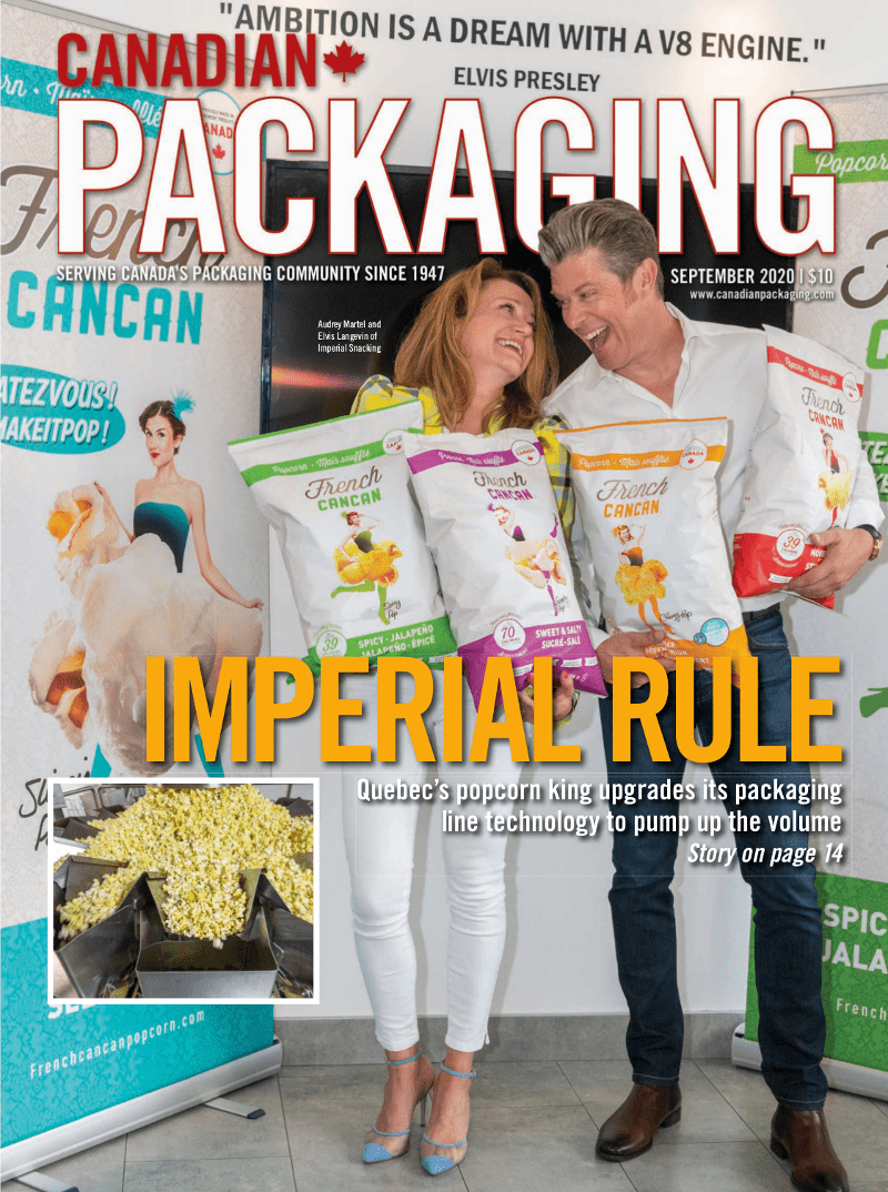 Imperial Rule magazine cover popcorn