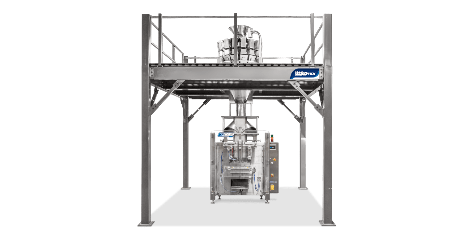 Vertical form filling and sealing machine