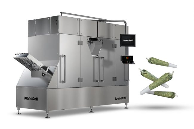 JuanaRoll Pre-Roll weigh filling and twisting machine with finished joints